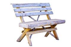 Vieux banc en bois Images libres de droits