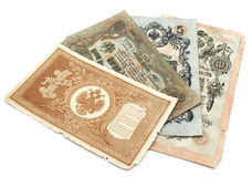 Vieux banknoty. Image stock