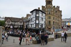 Vieux bar à Manchester Image stock