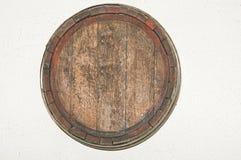 Vieux baril de bière Photographie stock libre de droits
