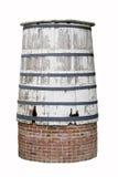 Vieux baril de l'eau Photographie stock