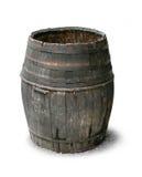 Vieux baril en bois Photographie stock libre de droits