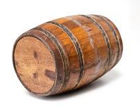 Vieux baril en bois Photo libre de droits