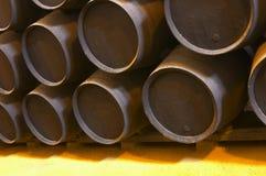 Vieux baril en bois brun Image libre de droits