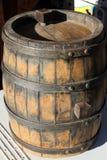 Vieux baril pour le vin image libre de droits