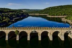 Vieux barrage Photographie stock