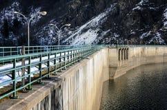 Vieux barrage de l'eau Image stock