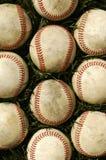 Vieux base-ball photographie stock libre de droits