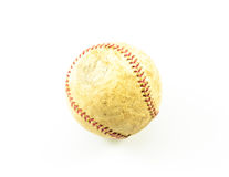 Vieux base-ball Image libre de droits