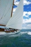 Vieux bateau à voile Image stock