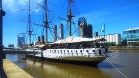 Vieux bateau à voiles Image stock