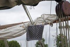 Vieux bateau à voiles Photographie stock