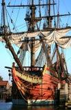Vieux bateau - Batavia Image libre de droits