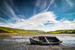 Vieux bateau d'épave Image libre de droits