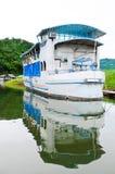 Vieux bateau de course Images libres de droits