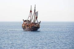 vieux bateau de navigation Photographie stock libre de droits