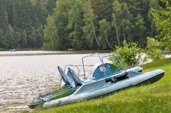 Vieux bateau de pédale Photographie stock