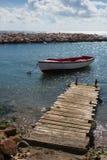 Vieux bateau de pêche Photos libres de droits