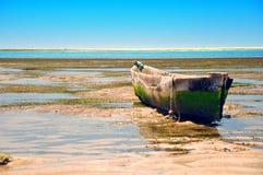 Vieux bateau de pêche Photo stock