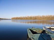 Vieux bateau de pêche Images libres de droits