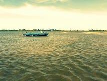 Vieux bateau de pêche Image stock
