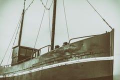 Vieux bateau de pêcheur Images stock