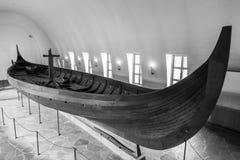 Vieux bateau de Viking Images stock