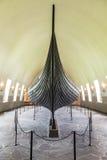 Vieux bateau de Viking Photographie stock
