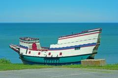 Vieux bateau en bois Photo libre de droits