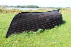Vieux bateau en bois de pêche Photographie stock libre de droits