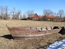 Vieux bateau en bois Images libres de droits