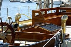 Vieux bateau à voiles Photos stock