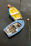 Vieux bateaux à rames Photographie stock