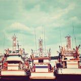 Vieux bateaux Photo libre de droits