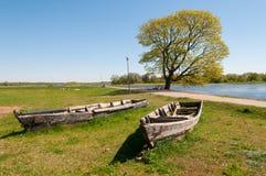 Vieux bateaux Photographie stock