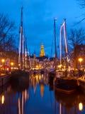Vieux bateaux de navigation Photos libres de droits