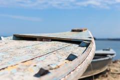 Vieux bateaux de pêche photo libre de droits