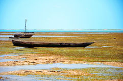 Vieux bateaux de pêche Image stock