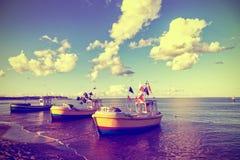 Vieux bateaux de pêche Photos libres de droits