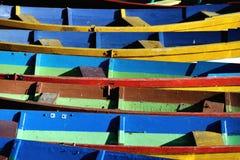 Vieux bateaux en bois Photo stock
