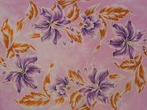 Vieux batik Images libres de droits