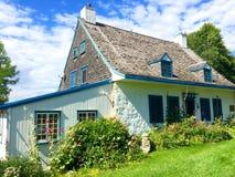 Vieux blanc historique de maison Image libre de droits