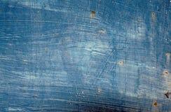 Vieux bleu comme fond Images stock