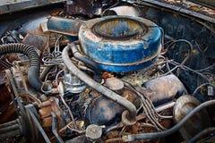 Vieux bloc d'engine Photos libres de droits