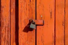 Vieux blocage Images stock