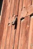 Vieux blocage de trappe images stock