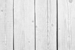 Vieux bois blanc ou modèle décoratif en bois de fond extérieur de plancher ou de mur de planche de vintage Une couverture de tabl photographie stock