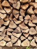 Vieux bois de chauffage Photo stock