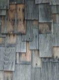 Vieux bois de mur Photos libres de droits