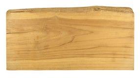 Vieux bois de planche d'isolement sur le fond blanc image libre de droits